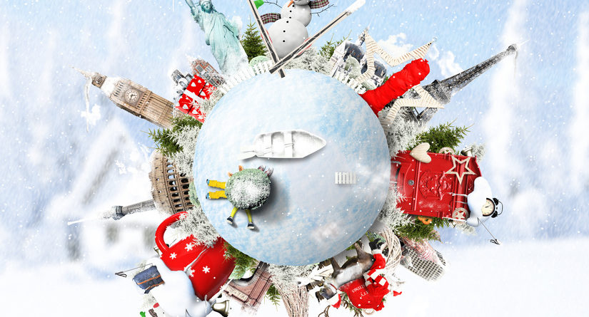 Christmas and New Year, winter vacations and holidays